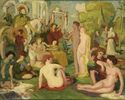 École FRANÇAISE, suiveur d'Émile AUBRY