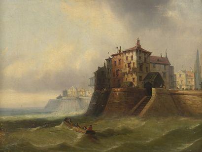 Attribué à Charles KUWASSEG (1802-1877). Attribué à Charles KUWASSEG (1802-1877)....