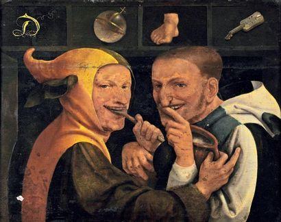 Ecole flamande vers 1600, entourage de Pieter BALTEN