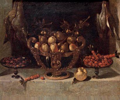 École ESPAGNOLE du XVIIe siècle, atelier de Juan Van der HAMEN