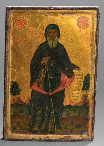Saint Antoine du désert Grèce, vers 1800....