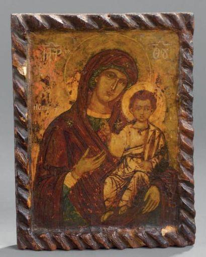 Vierge Hodighitria Grèce, début du XIXe siècle....