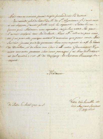 Pierre-Louis Moreau de MAUPERTUIS (1698-1759)...