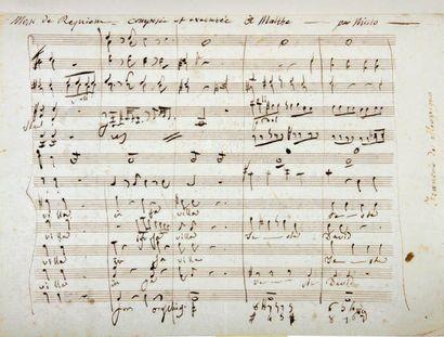 Nicolo Isouard, dit NICOLO (1775-1818) compositeur, né à Malte