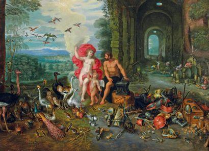 Jan BRUEGHEL (1601-1678) et son atelier et Hendrick Van BALEN (1623-1661)