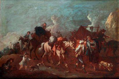 Attribué à Pieter van BLOeMEN (Anvers 1657 - 1720)