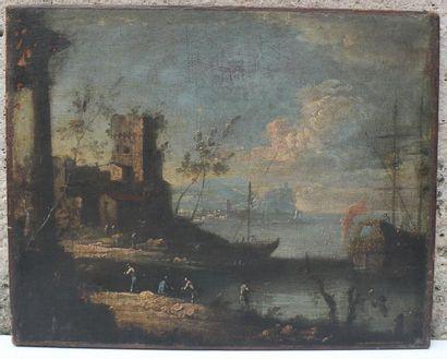 École VÉNITIENNE de la fin du XVIIIe siècle, suiveur de Michele Marieschi