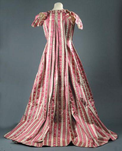 Manteau de robe à la française, époque Louis...