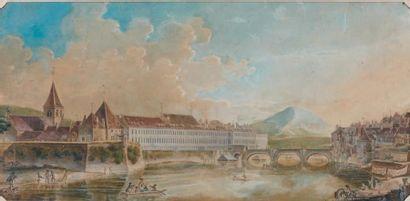 École FRANC-COMTOISE du XVIIIe s. attribué à Charles Louis Zechender(?)