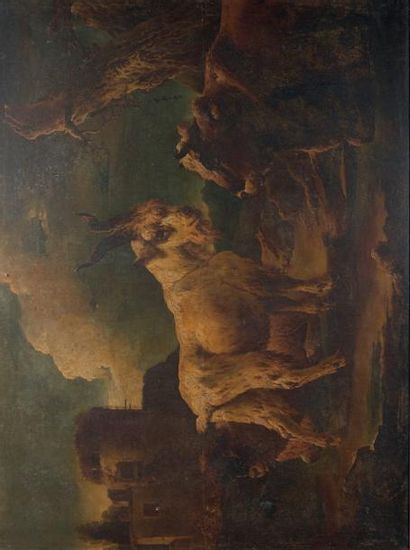 Philippe Peter ROOS dit ROSA da TIVOLI (Francfort-sur-le-Main 1657 - Rome 1706)