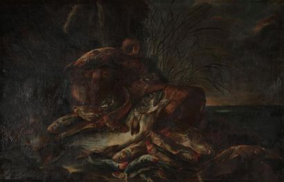 Attribué à Giovanni CRIVELLI dit CRIVELLINO (1710-1760)