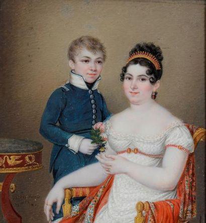 Hyacinthe MERCIER (expose aux Salons de 1808 et 1810)