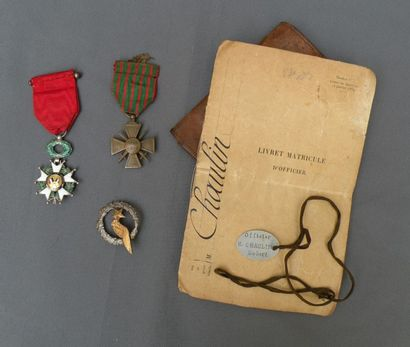 Insigne d'Observateur de l'aéronautique militaire....