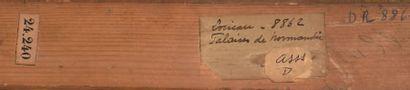 Gustave LOISEAU (1865-1935) Falaises de Normandie, 1902 Huile sur toile signée et...
