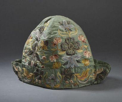 Bonnet d'intérieur d'homme, vers 1730-1750,...