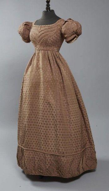 Robe d'après-midi, vers 1820-1825, petit...