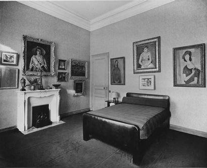 André DERAIN (1880-1954) Poitrine de femme, vers 1933 Huile sur toile, signée en...