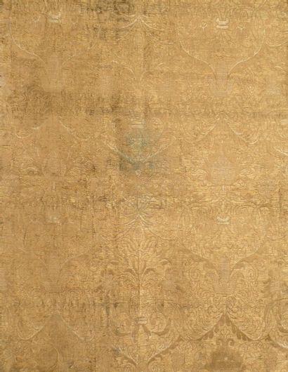 Brocart, Espagne (?), XVe ou début du XVIe...
