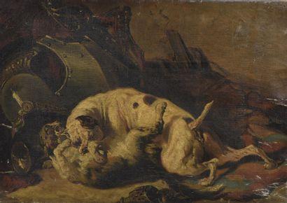 Attribué à Alfred DE DREUX (Paris 1810 -...
