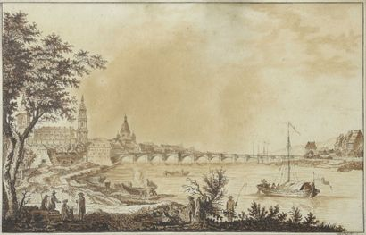 DEVAUX (actif en France au XIXe siècle) Vue...