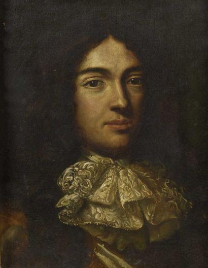 Dans le gout de Jacob Ferdinand Voet Portrait...