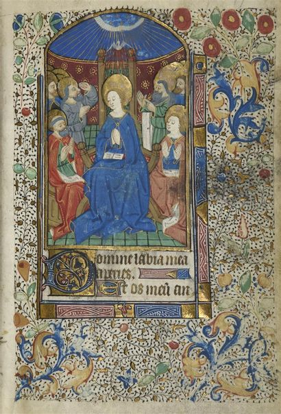 [HEURES MANUSCRITES - PARIS]. Heures manuscrites...