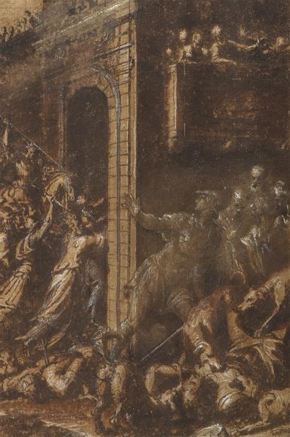 Ecole italienne, seconde partie du XVIe siècle...