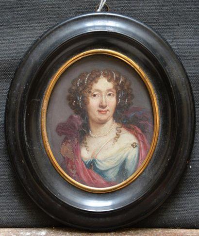 École HOLLANDAISE, vers 1680 Portrait de...