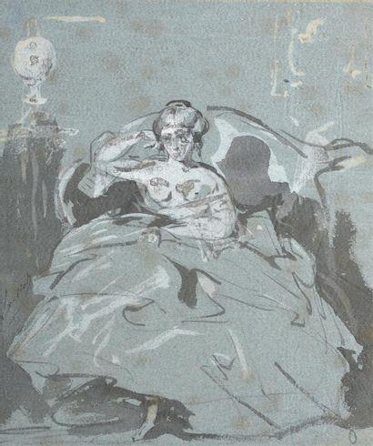 Henri Charles Loeillot (1798-1864) Femme...