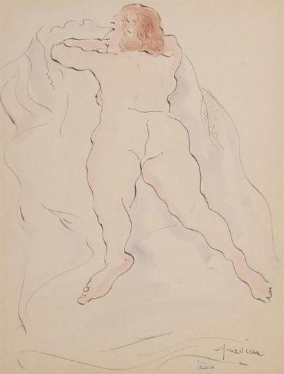 Attribué à PASCIN, Jules (1885-1930) Femme...