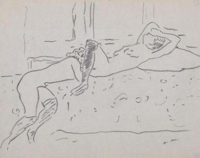 Albert MARQUET (1875-1947) Les deux amies...