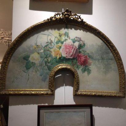 Eugénie FAUX-FROIDURE (1886-?) Bouquet de...