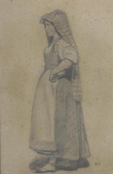 Attribué à Alexandre Gabriel DESCAMPS (1803-1860)...