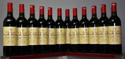 12 bouteilles CHÂTEAU LEOVILLE POYFERRÉ -...