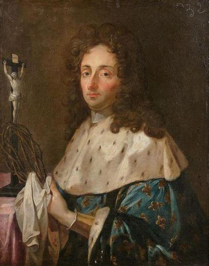 École Française vers 1740 Portrait d'homme...