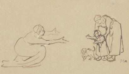 Jean- François MILLET (1814-1875) Les premiers...
