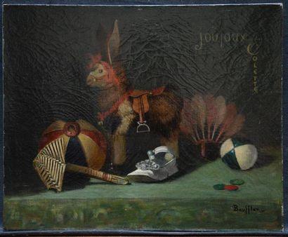 BOUFFLET (actif à Paris vers 1900) Les jouets...