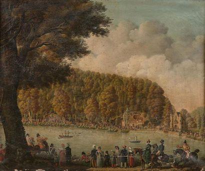 École FRANCAISE vers 1820, entourage d'Adolphe...