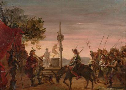 École Espagnole vers 1800 Dom Quichotte et...