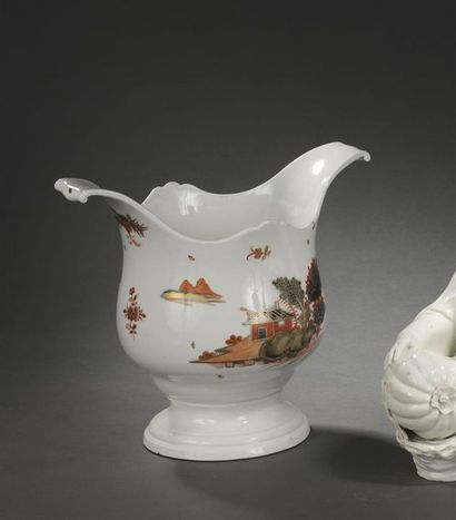 Vienne , XVIIIe siècle Paire de seaux à bouteille...