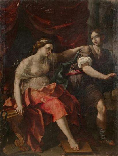 École Florentine du XVIIe siècle Joseph et...