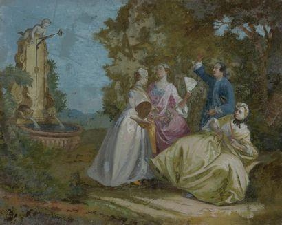 Ecole française du XVIIIe siècle d'après...