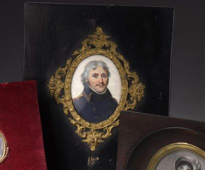 École francaise vers 1800 Portrait de Pierre...