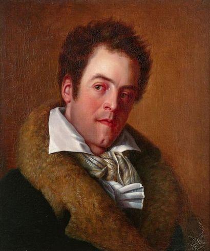Adrien de LAURENCEL (1770 - 1830) Portrait...