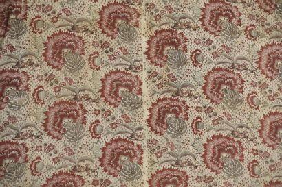 Toile imprimée, fin du XVIIIe siècle, impression...