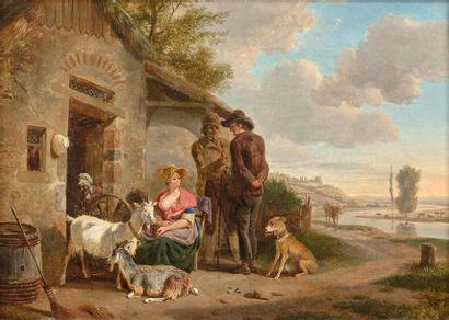 Jean-Louis DEMARNE (Bruxelles, 1752 - Paris,...