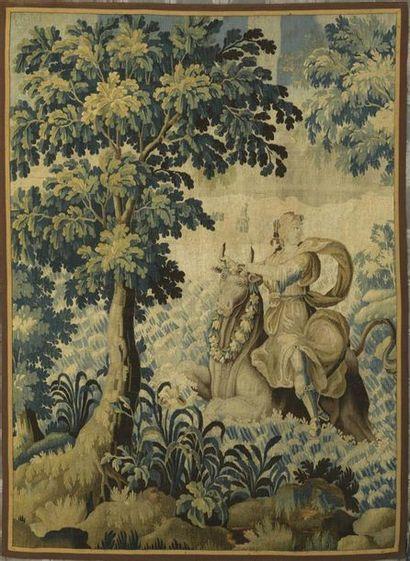 Audenarde, XVIIIe siècle Tapisserie représentant...