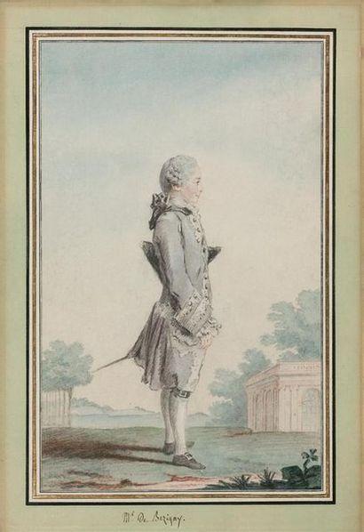 Louis CARROGIS dit CARMONTELLE (Paris 1717-1806)...