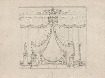 Attribué à Charles PERCIER (Paris 1764-1838)...