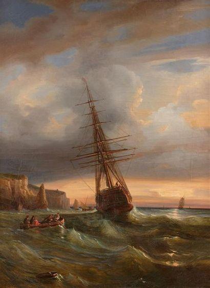 Théodore GUDIN (Paris 1802 - Boulogne-Billancourt...